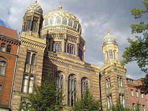 הסיור היהודי - בית הכנסת החדש בברלין